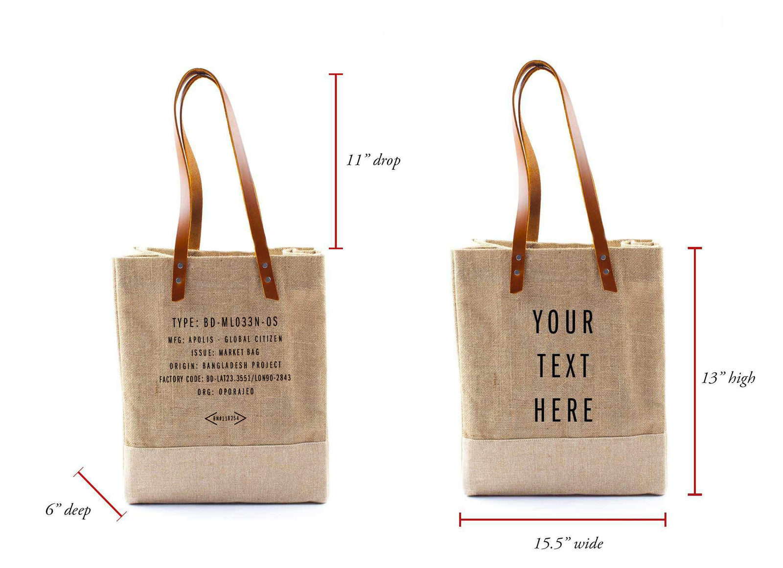 Customize Your Wine Tote through May 31 Only