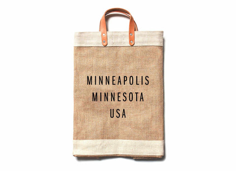 Minneapolis City Series Market Bag