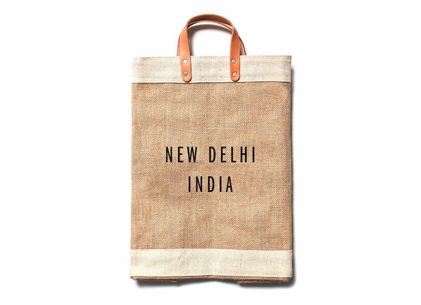 New Delhi City Series Market Bag