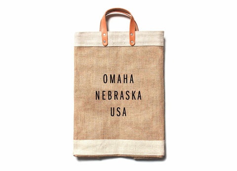 Omaha City Series Market Bag