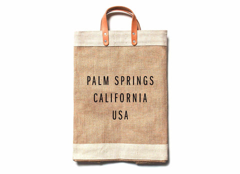 Palm Springs City Series Market Bag