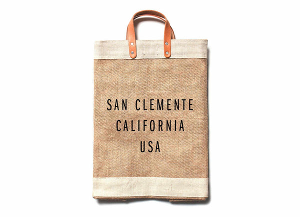 San Clemente City Series Market Bag