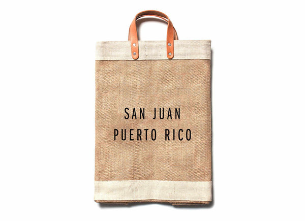 San Juan City Series Market Bag