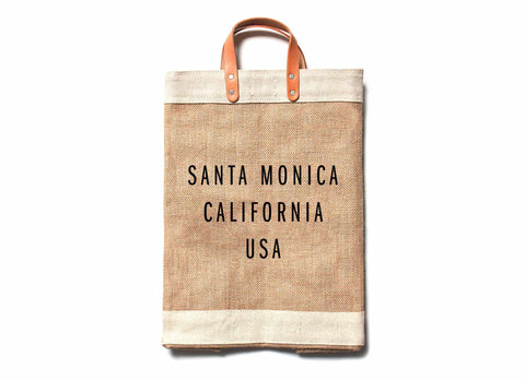 Santa Monica City Series Market Bag