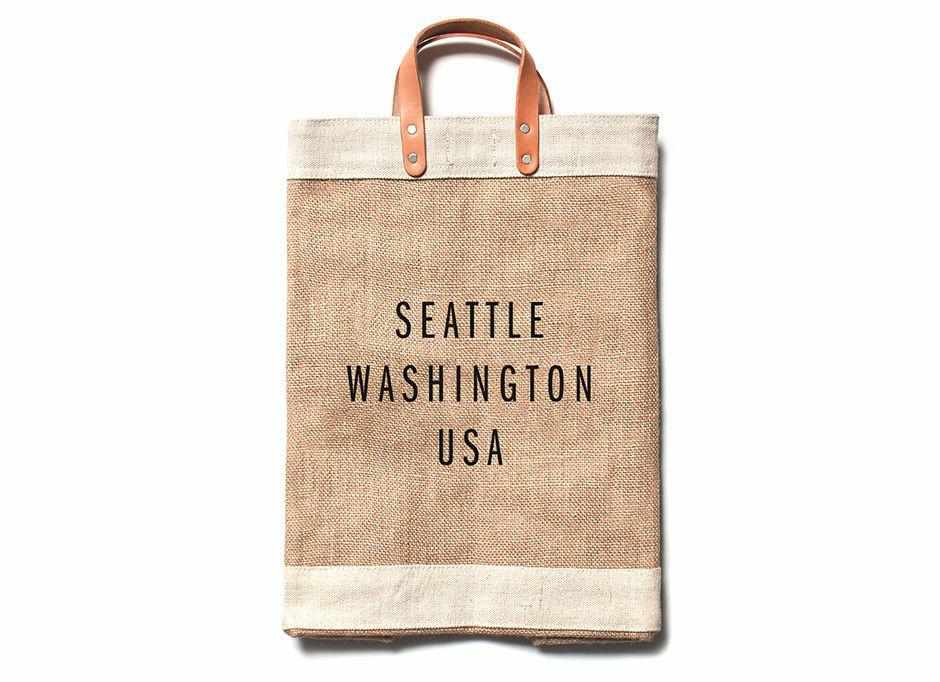 Seattle City Series Market Bag