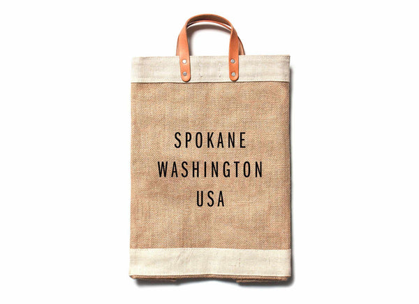 Spokane City Series Market Bag