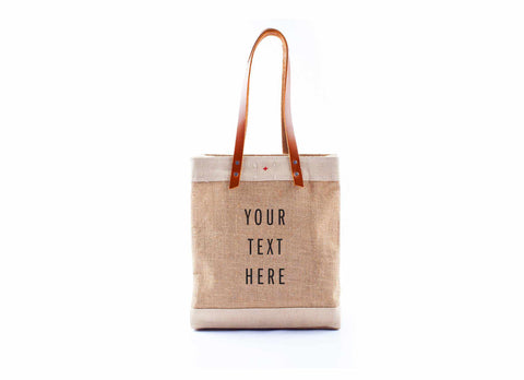 Customize Your Standard Market Tote, Natural