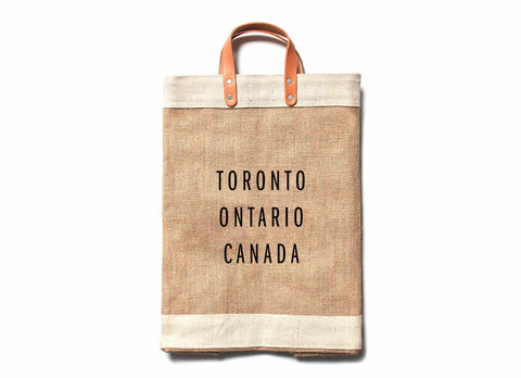 Toronto City Series Market Bag