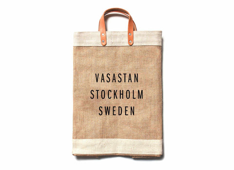 Vasastan City Series Market Bag