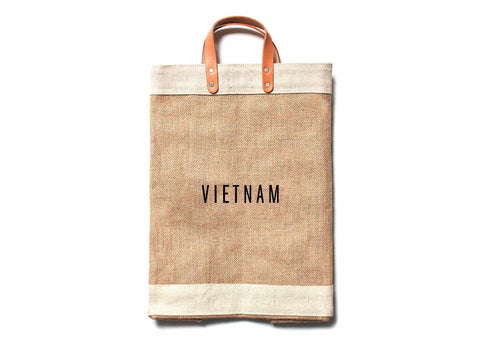 Vietnam City Series Market Bag