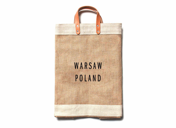 Warsaw City Series Market Bag