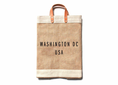 Washington DC City Series Market Bag