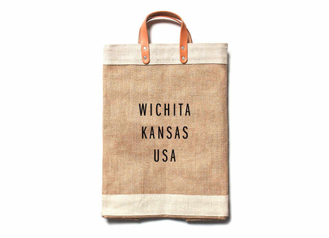 Wichita City Series Market Bag