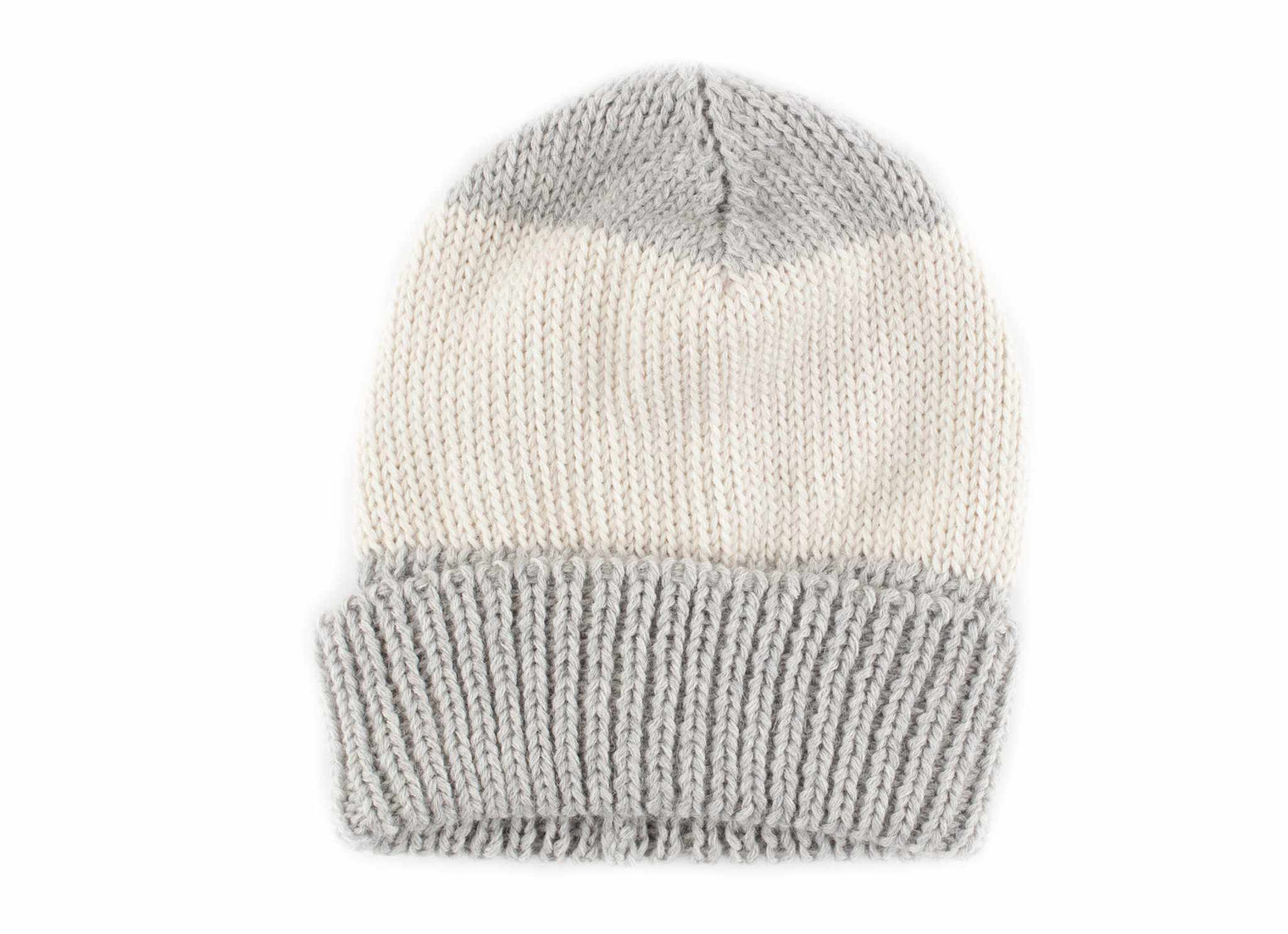 Alpaca Striped Beanie