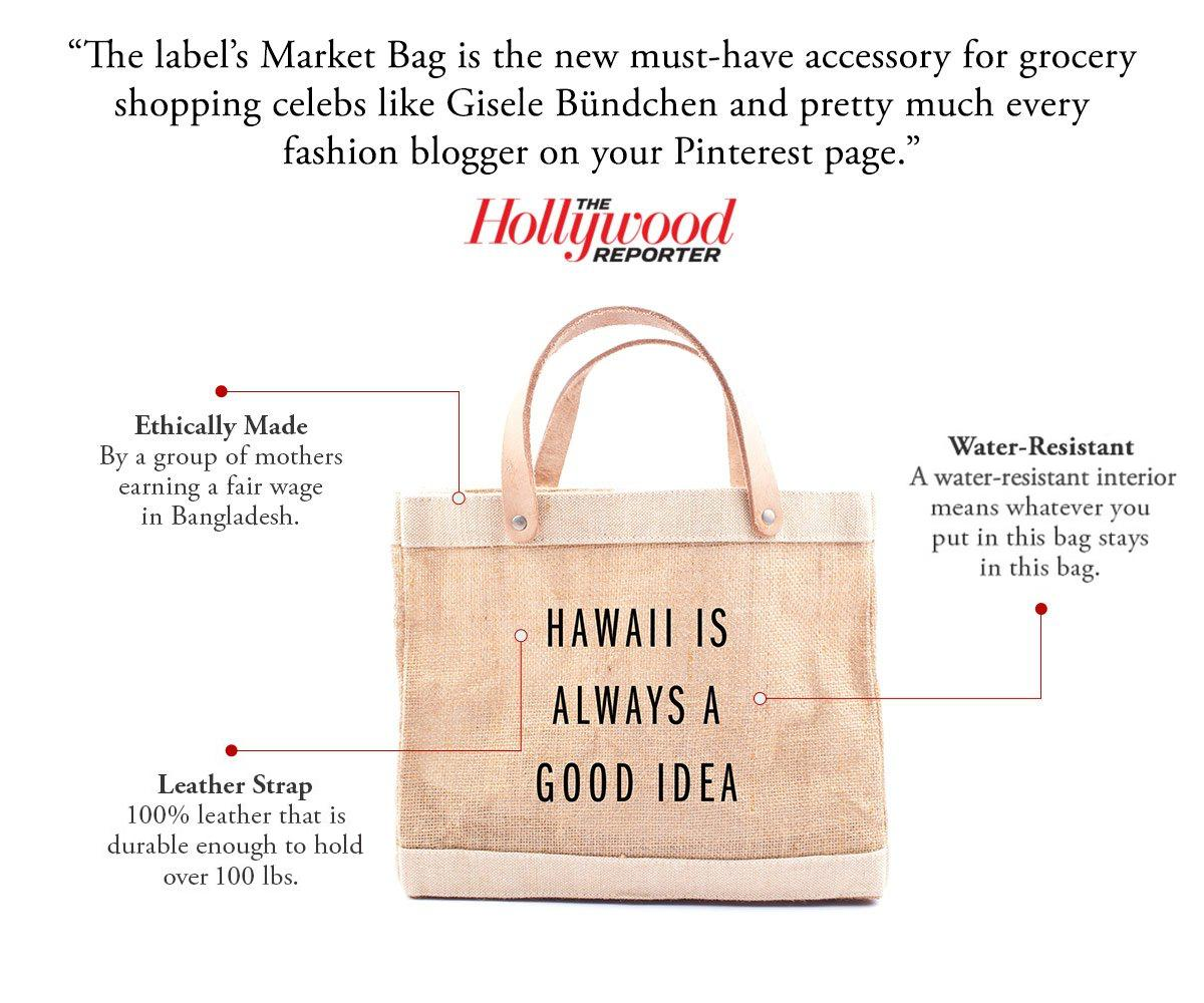 Hawaii Is Always A Good Idea Petite Bag by at Dawn