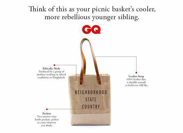 Customize Your Wine Tote for Charity: Water