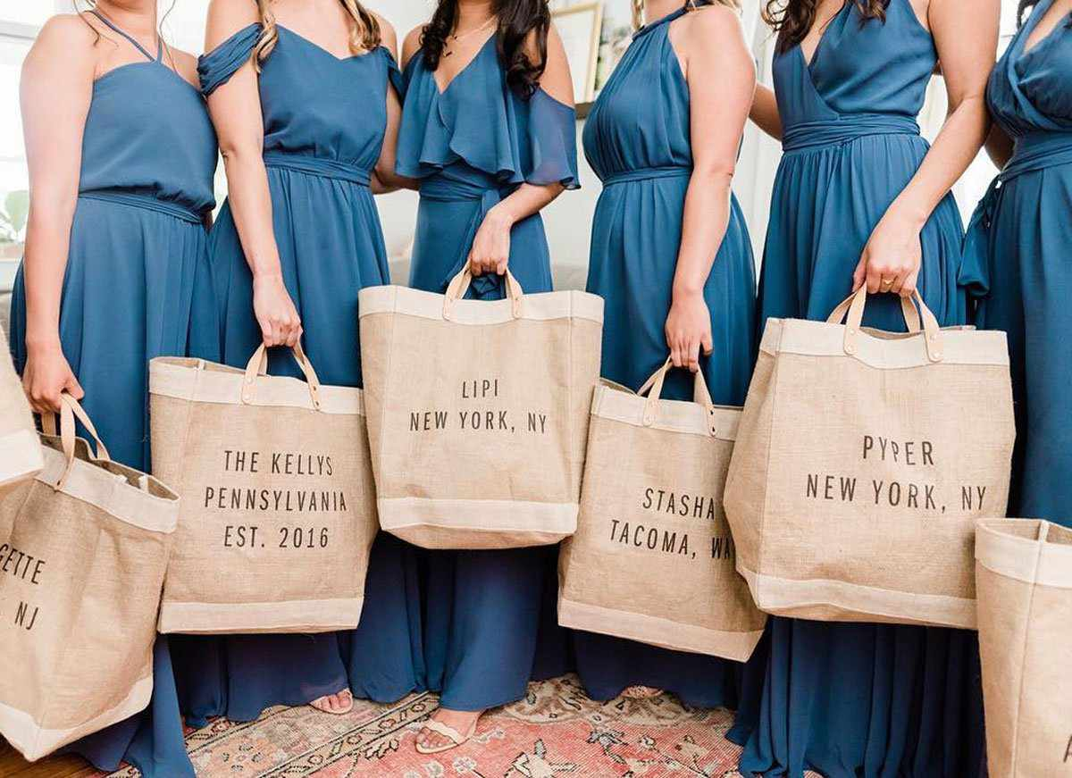 'Weekend Family Goals' Gift Market Bag