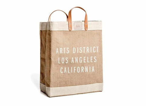 Arts District Market Bag, Natural