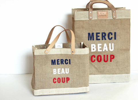 Apolis + Clare V. Merci Market Bag Bundle