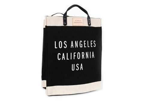 Los Angeles Market Bag, Black