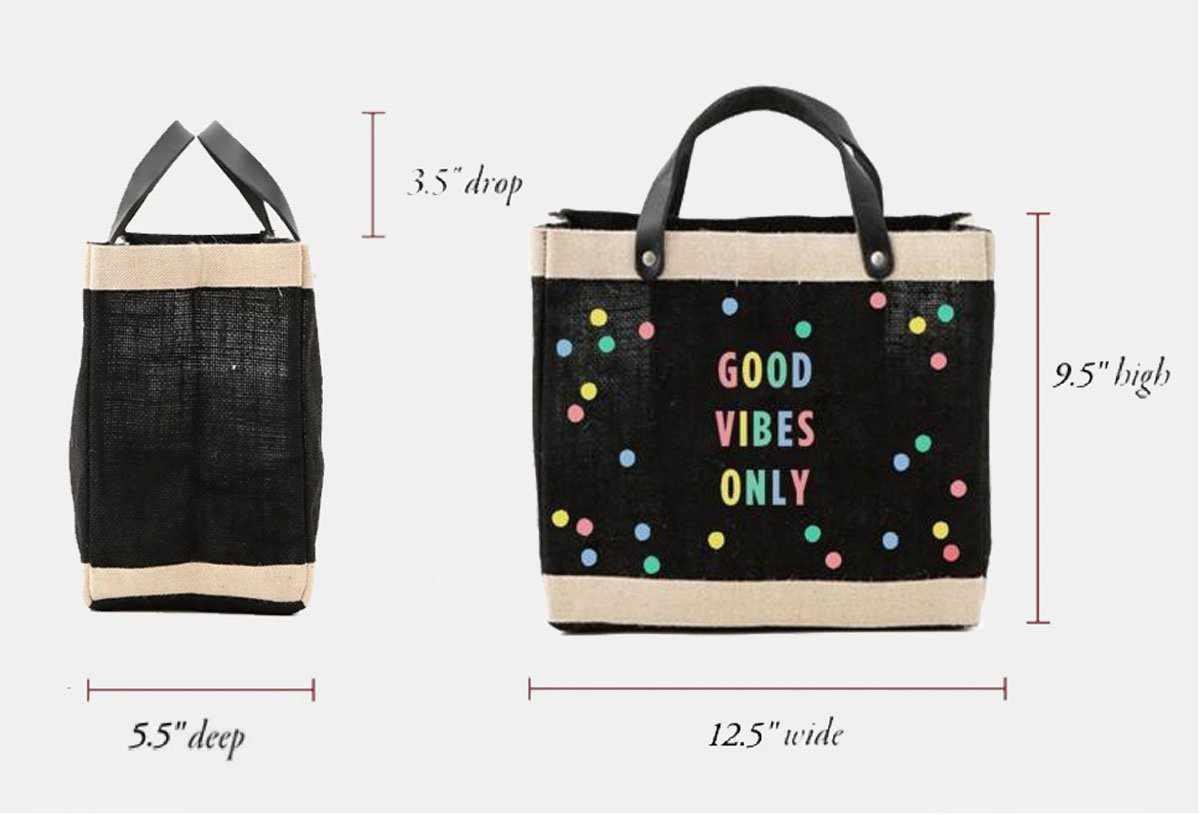 Oh Joy! + Apolis 'Good Vibes Only' Bag for Baby2Baby®