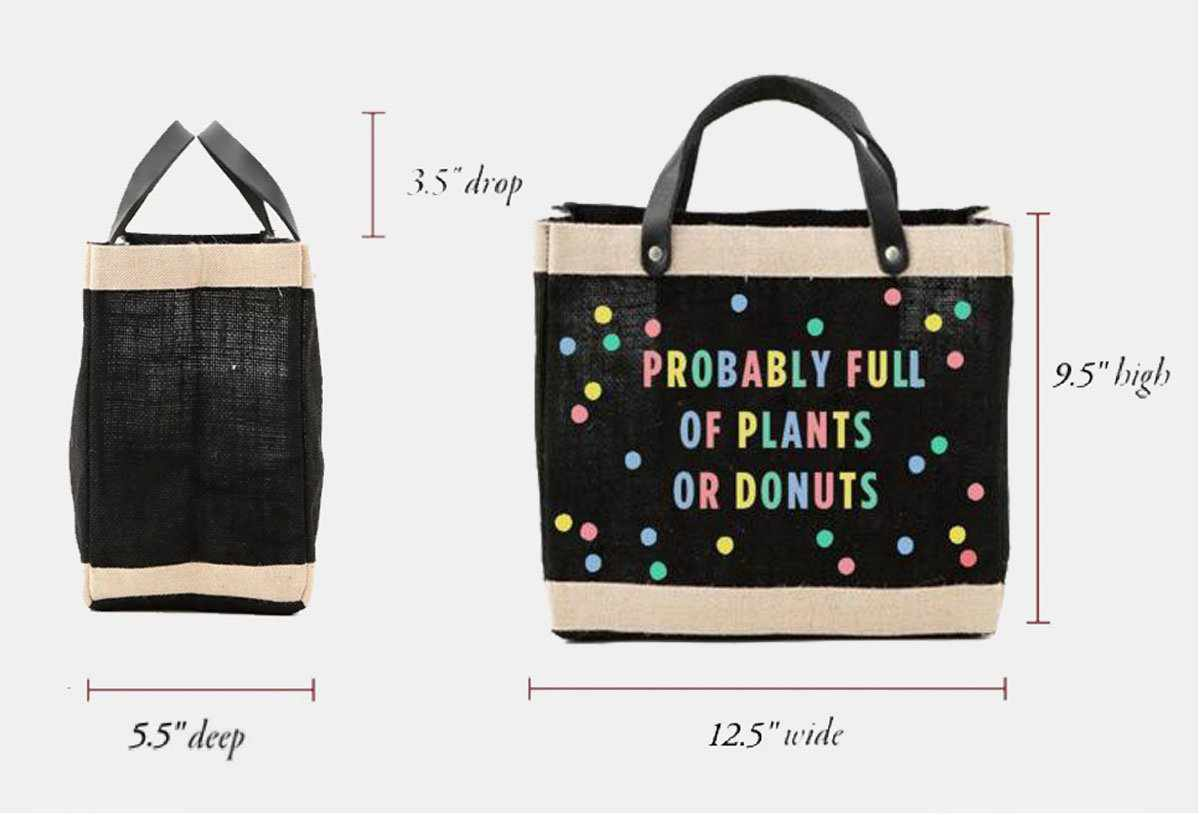Oh Joy! + Apolis 'Probably Full of Plants or Donuts' Bag for Baby2Baby®