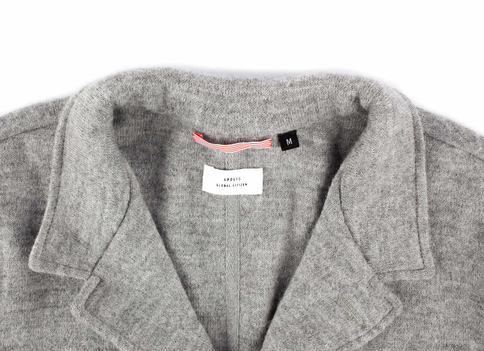 Boiled Wool Alpaca Blazer