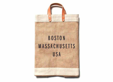Boston City Series Market Bag