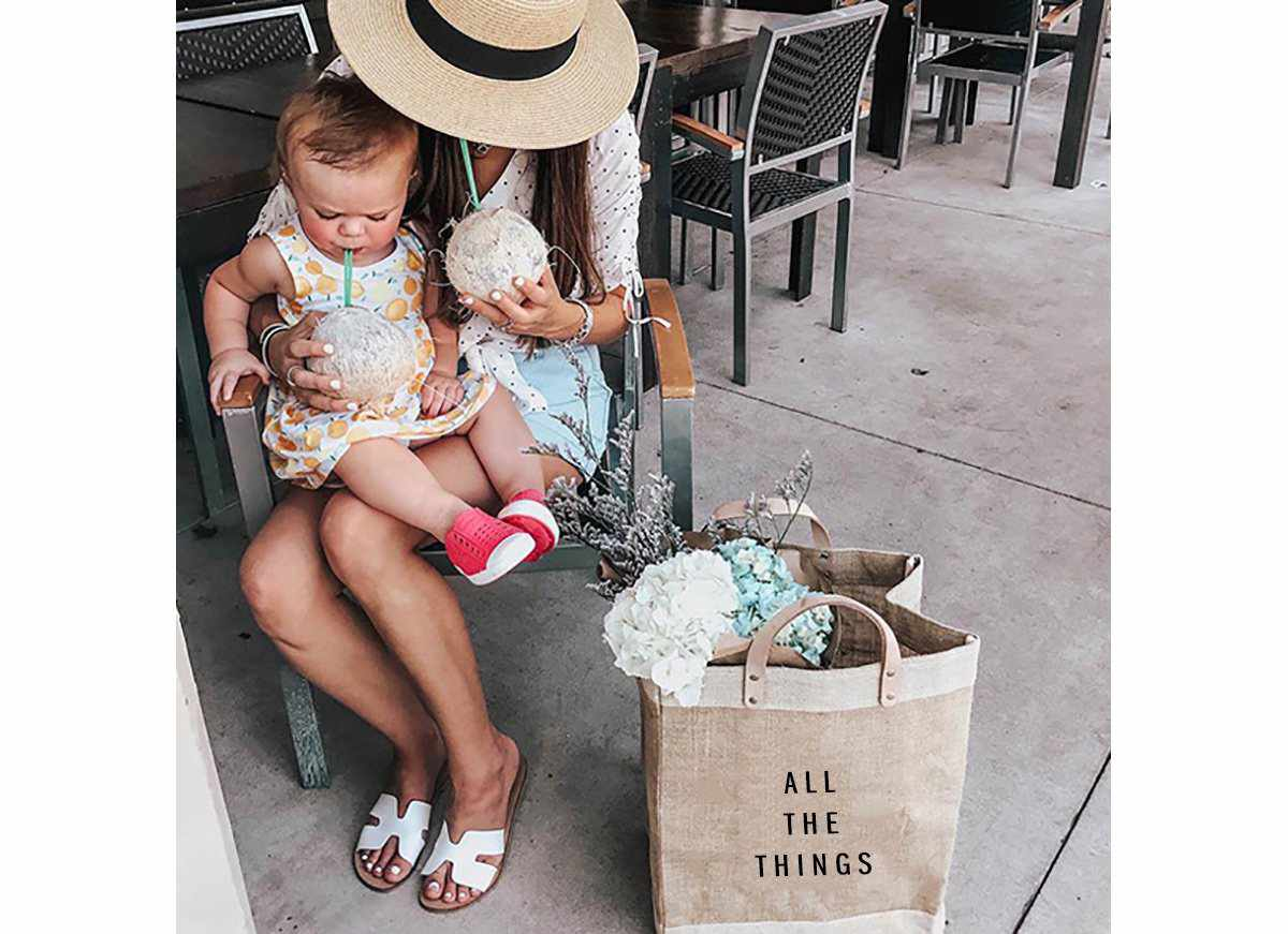 'All The Things' Grocery Market Bag