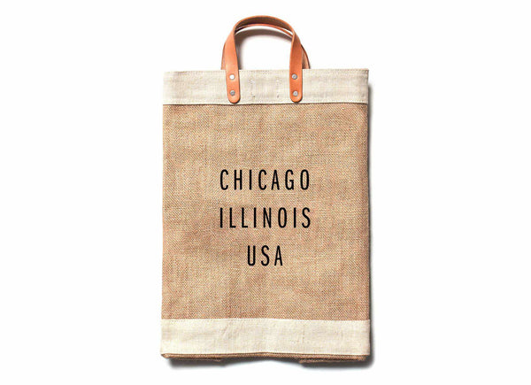 Chicago City Series Market Bag