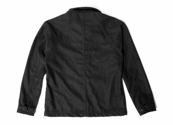 Coated Wool Chore Jacket