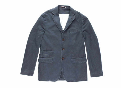 Washed Civilian Blazer, Navy