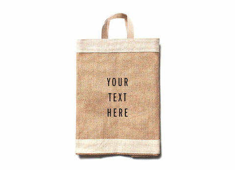 Customize Your Simple Market Bag