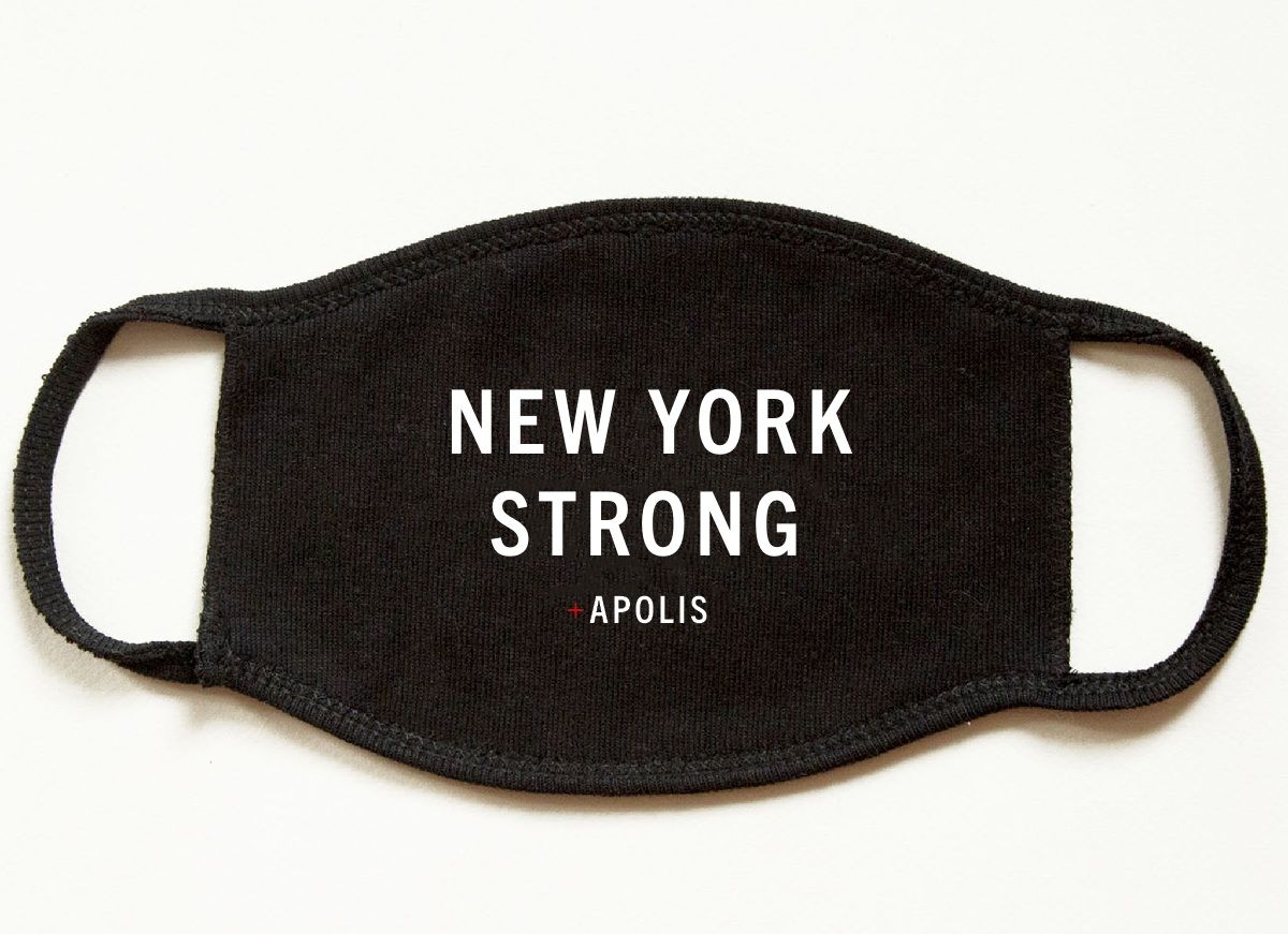 """New York Strong"" Non-Medical Adult Face Mask for Baby2Baby®"