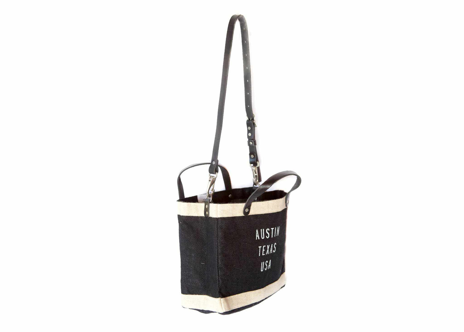 Customize Your Petite Black Market Bag with Detachable Handle for Baby2Baby®
