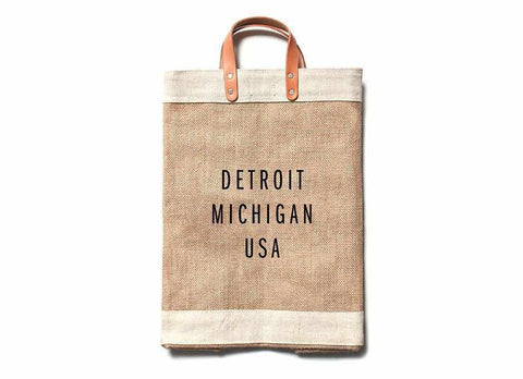 Detroit City Series Market Bag