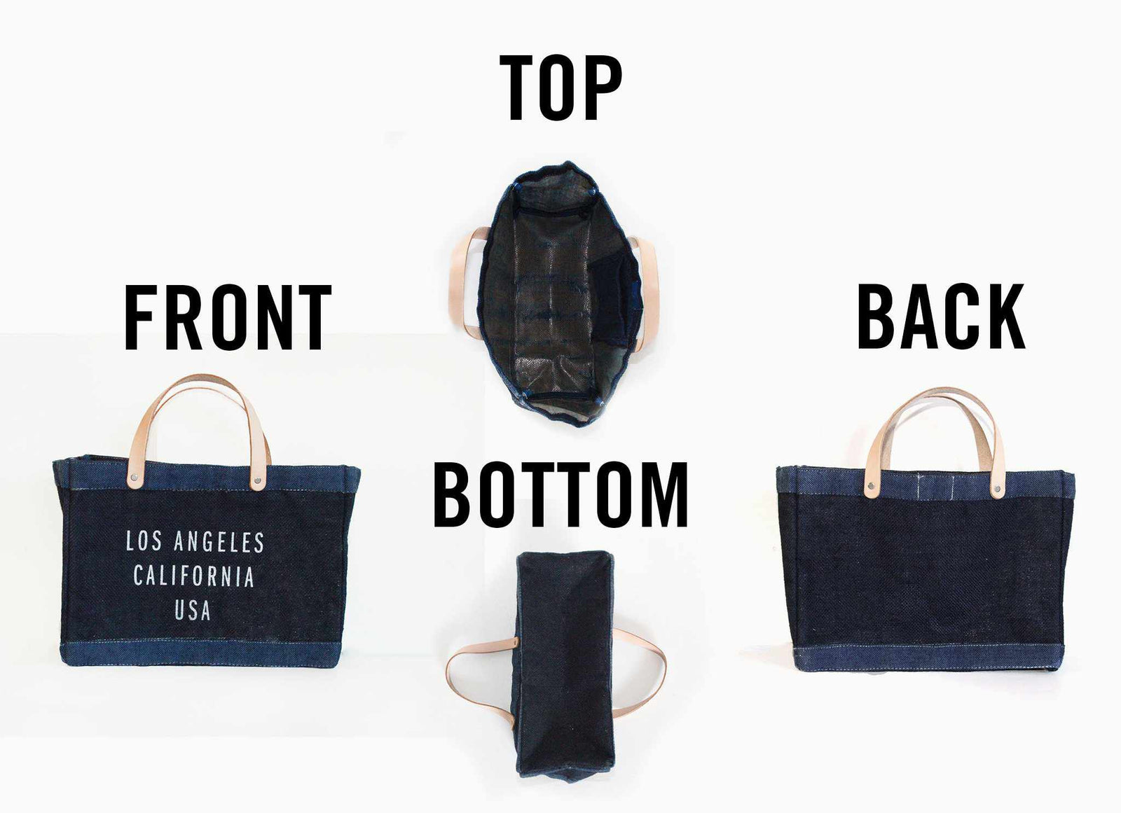 Customize Your Dark Indigo Petite Bag