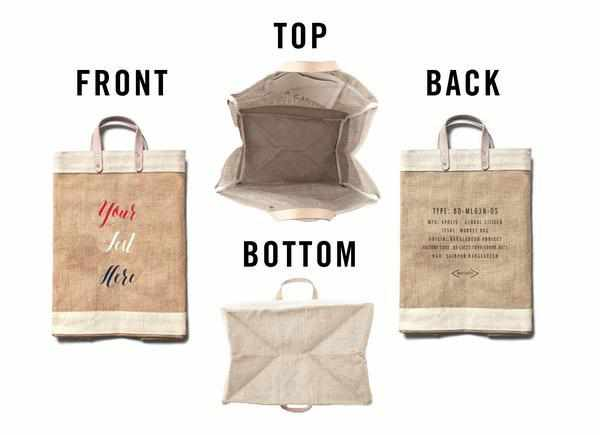 Customize Your Red-White-and-Blue Market Bag