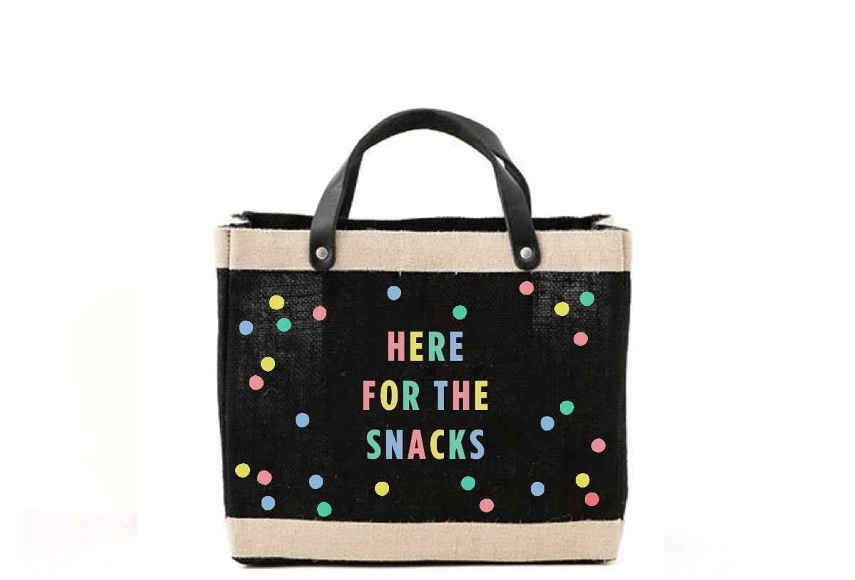 Oh Joy! + Apolis 'Here for the Snacks' Bag for Baby2Baby®