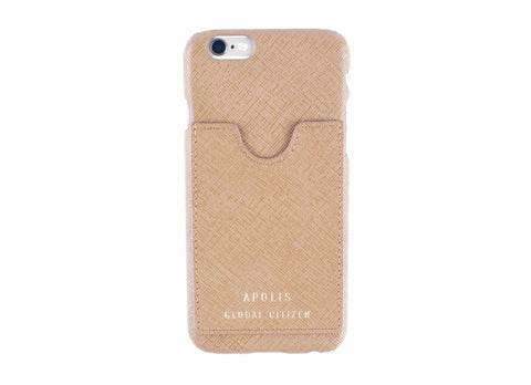 Transit Issue iPhone 6 Case, Tan