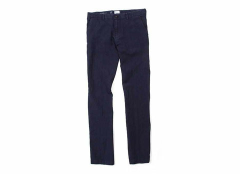 Washed Linen Civilian Chino Pant, Navy