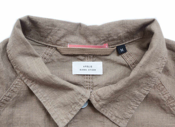 Linen French Work Jacket