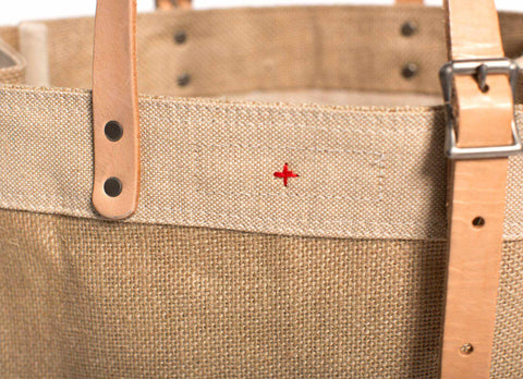 Market Carrier Tote, Natural
