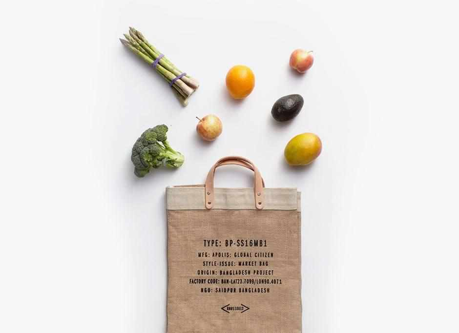 Hoboken City Series Market Bag