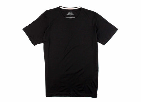 Transit Issue Merino T-Shirt, Black