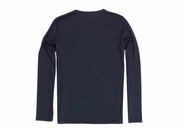 Transit Issue Long Sleeve Merino Crew Neck Shirt