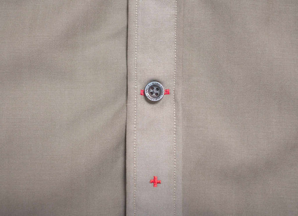 Merino Wool Military Button Under