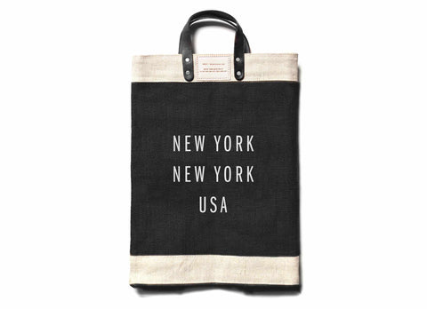 New York Market Bag, Black