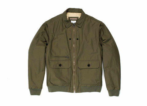 Transit Issue Nylon Cameraman Jacket, Olive