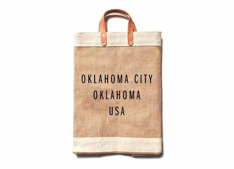 Oklahoma City City Series Market Bag
